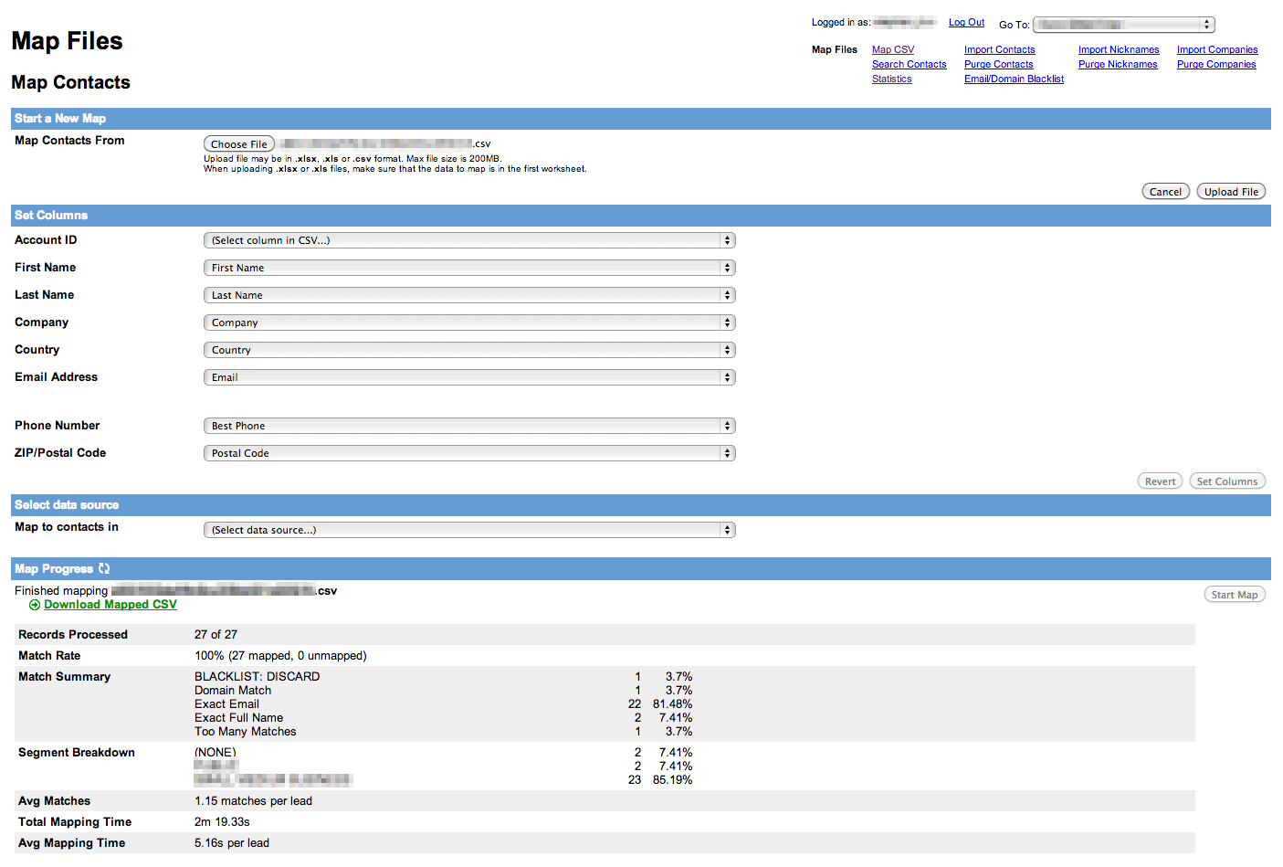 a Web Based User Interface